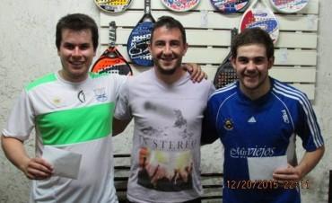 Juan Sebero fue Campeón del Torneo Master en Trenque Lauquen