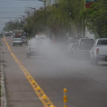 Comienzan las pulverizaciones programadas contra los mosquitos en todo el partido de Bolívar