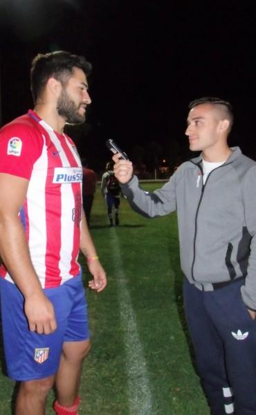 Jorge Orona: 'Se que sin entrenar hoy no se puede jugar'