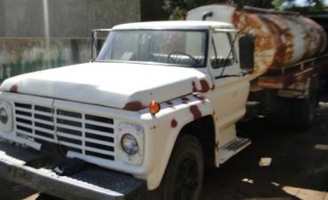 La Delegación incorporó un camión regador