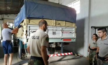 CPR de la zona: Un camión completo de donaciones partió para Pergamino