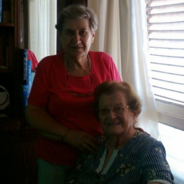 Teresa Fragomeni de Achaga: 'Estoy muy contenta que los ancianos de la localidad, tienen un lugar donde pasar sus últimos días'