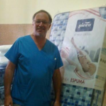 Se adquirieron insumos desde Cooperadora del Hospital Juana.G de Miguens