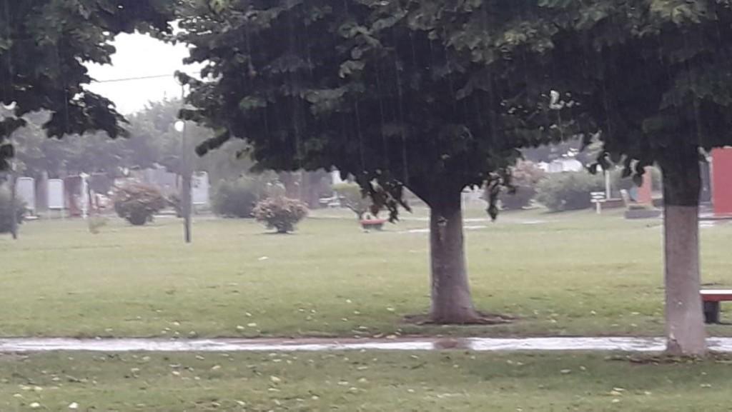Registro de lluvias: Hasta 80 mm registrados en la localidad y la zona