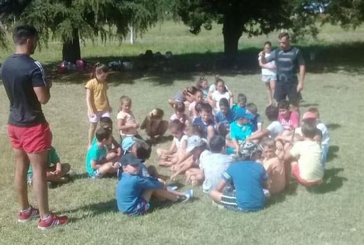 Comenzaron las actividades de la Escuela Abierta de Verano en el CAU
