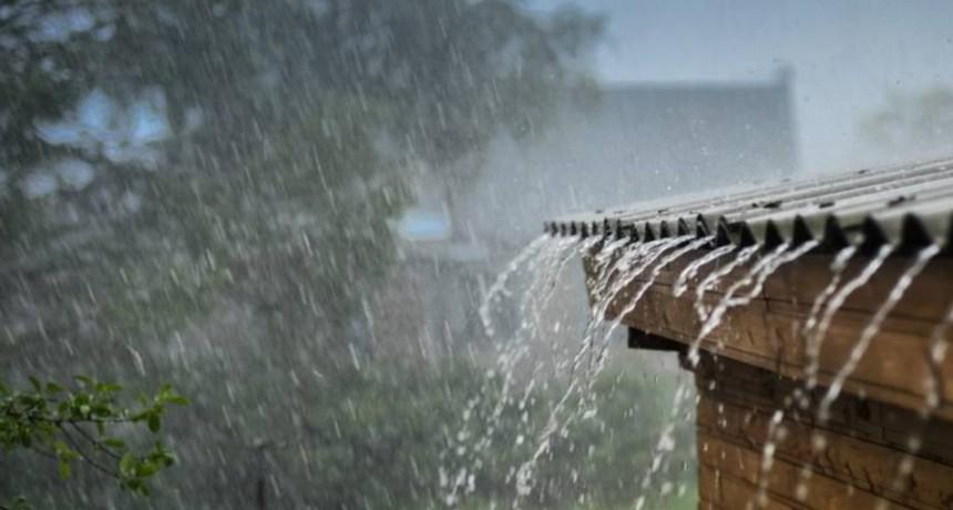 Importantes registro de lluvias en Urdampileta y la zona