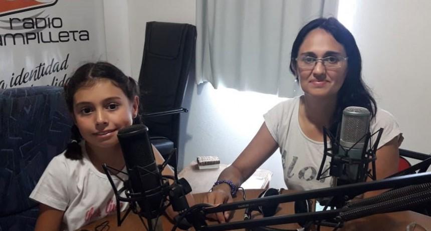 La solidaridad de una niña de 8 años llegó hasta 9 de julio