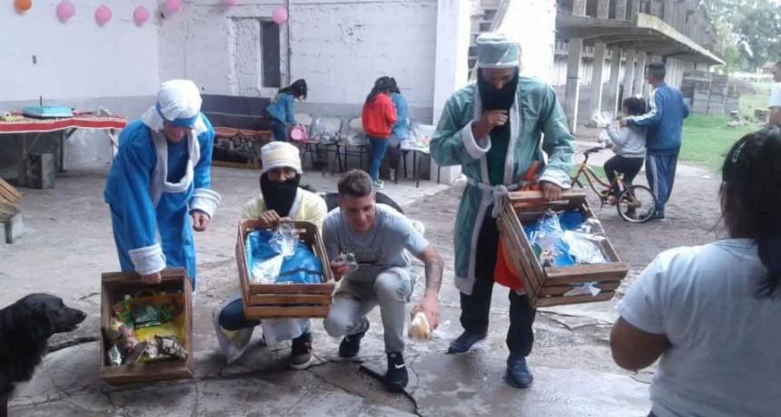 Sierra Chica: Los Reyes Magos sorprendieron a los hijos de los internos de la Unidad N° 27