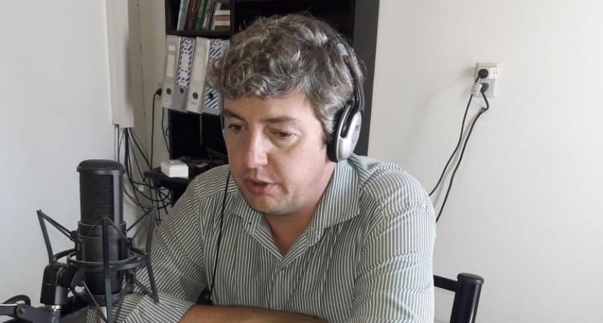 Agustín Puleo: 'Con estos trabajos intentamos resolver problemáticas que nos trasmiten los vecinos de la localidad'