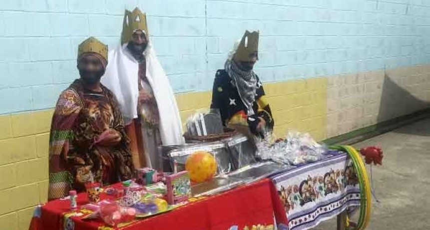 Los Reyes Magos llegaron a la Unidad Penal N° 17