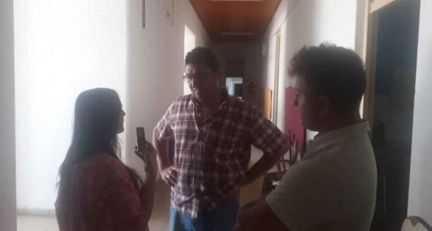 Jorge Spina: 'La obra de la EP N.° 22 quedó finalizada'