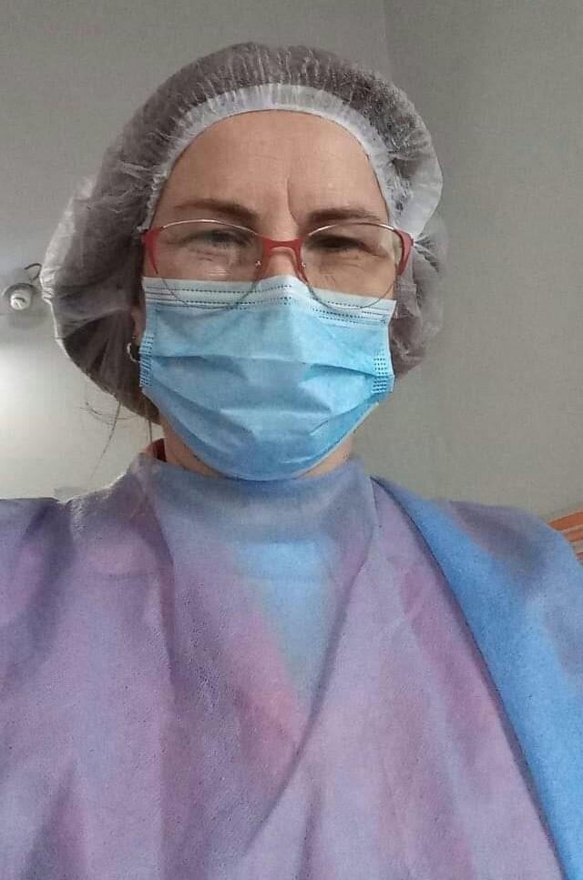 Mónica Piñel (Licenciada en Enfermería):