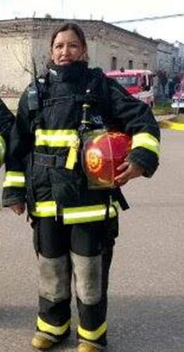 """Malvina Escalante (Bombera Voluntaria): """"La dueña de casa cortó el suministro de gas y se terminó el incendio"""""""