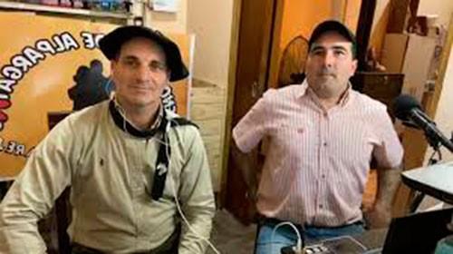 """Federico Hughes: """"Con Piturro además de la radio somos amigos y disfrutamos de la alegría que la gente capitaliza con nosotros"""""""