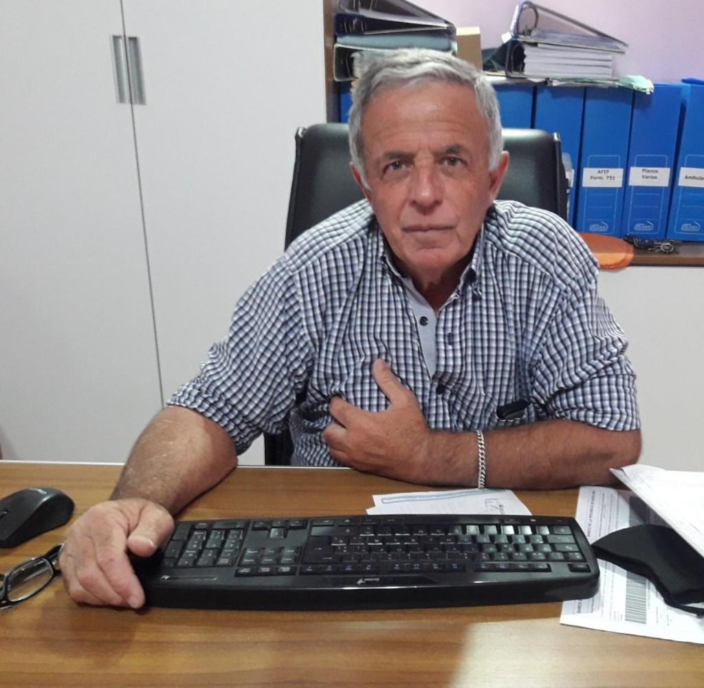 """Oscar Asín: """"La Cooperativa Eléctrica está bien estructurada como para brindar un buen servicio de excelente calidad"""""""