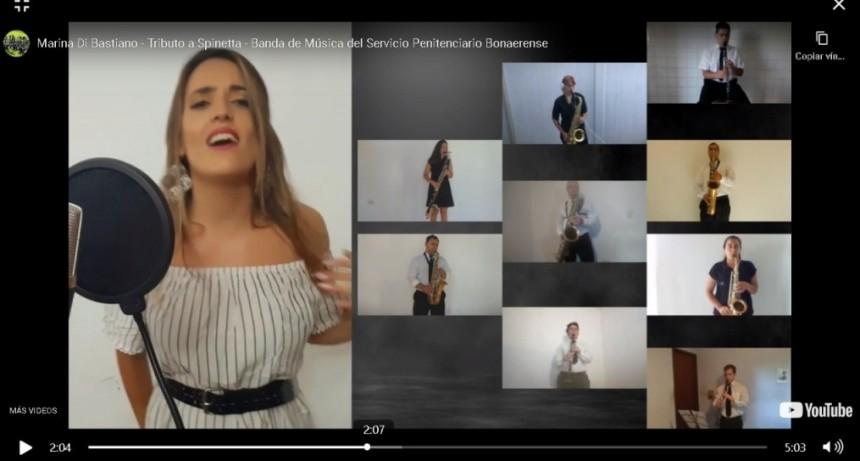 La Banda de Música del SPB homenajeó al Flaco Spinetta  con un enganchado de varios de sus grandes éxitos en el Día del Músico