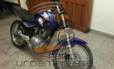 La Policía recuperó la moto que fue robada a la familia Reyes
