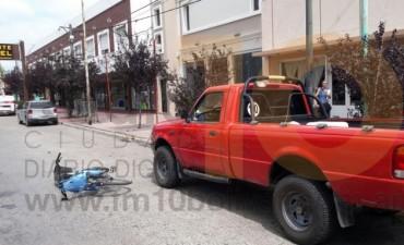 Urdampilletense involucrada en un accidente de tránsito en Bolívar