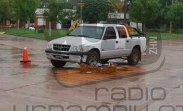 Accidente de Tránsito: Dos menores fueron trasladados hacia Bolívar