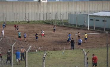 Se está realizando un torneo de fútbol interpabellones