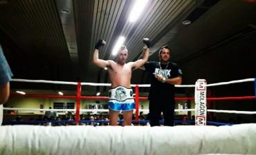 Santiago González, campeón Argentino amateur en Kick Boxing