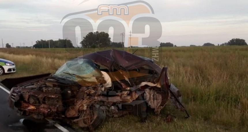 Confirmaron la identidad del joven fallecido en Ruta 65