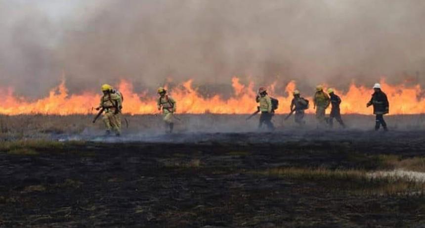 Pablo Prieto: 'Fueron 6 horas de trabajo continuo junto con bomberos de Daireaux'