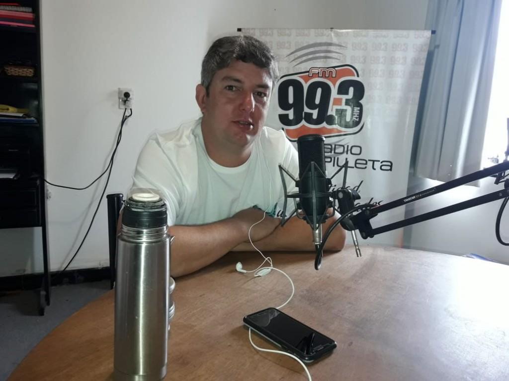 Agustín Puleo: 'No soy delegado por necesidad; Hago todo esto por vocación'