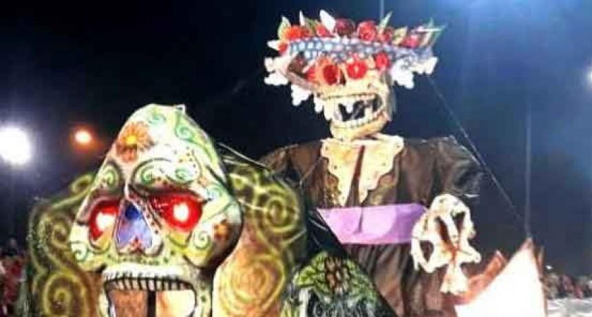 La Unidad N°2 construyó el Momo para los carnavales 2020