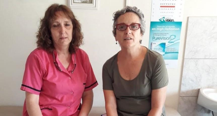 Silvia Tadeo;  'Estamos felices porque la comunidad colaboró no solo con nosotros sino con todas las instituciones de Urdampilleta'