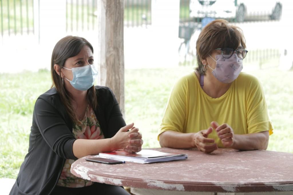 """Nancy Álvarez: """"Se logró la municipalización de 14 personas, de esta forma agradecemos el enorme esfuerzo que hacen día a día"""""""