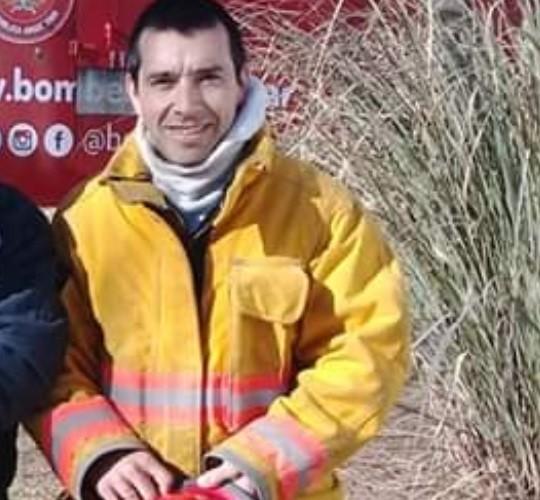 """Pablo Prieto (Bomberos Voluntarios Pirovano): """"Hoy lo que tenemos que hacer es cuidar la salud del Bombero Voluntario"""""""