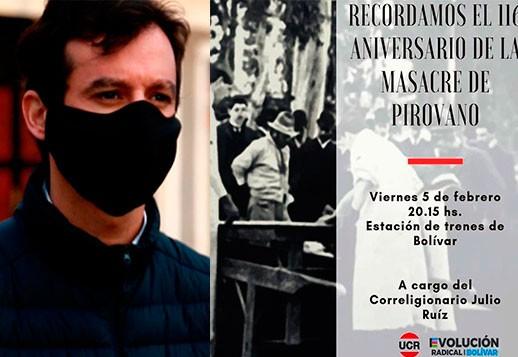 """César Pacho: """"Para quienes estamos en el proyecto de Evolución Radical, Julio Ruíz es un motivador constante"""""""