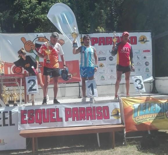 """Julio Clerice (Maratón de Esquel): """"Estoy muy satisfecho por haber completado este desafío, que fue el primero del año"""""""