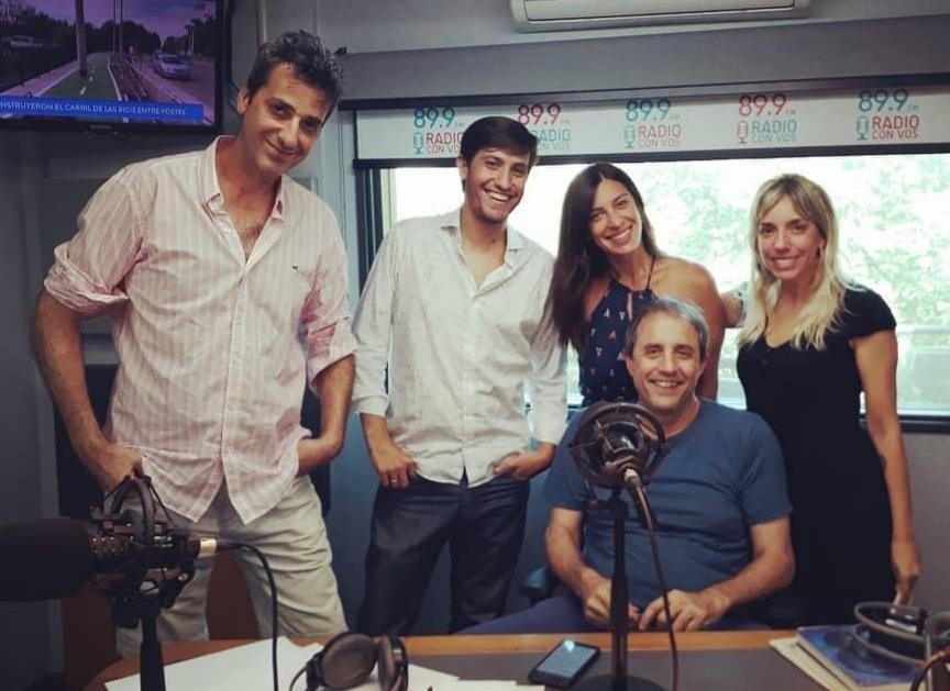 Jairo Straccia, el camino del éxito de un joven periodista Urdampilletense