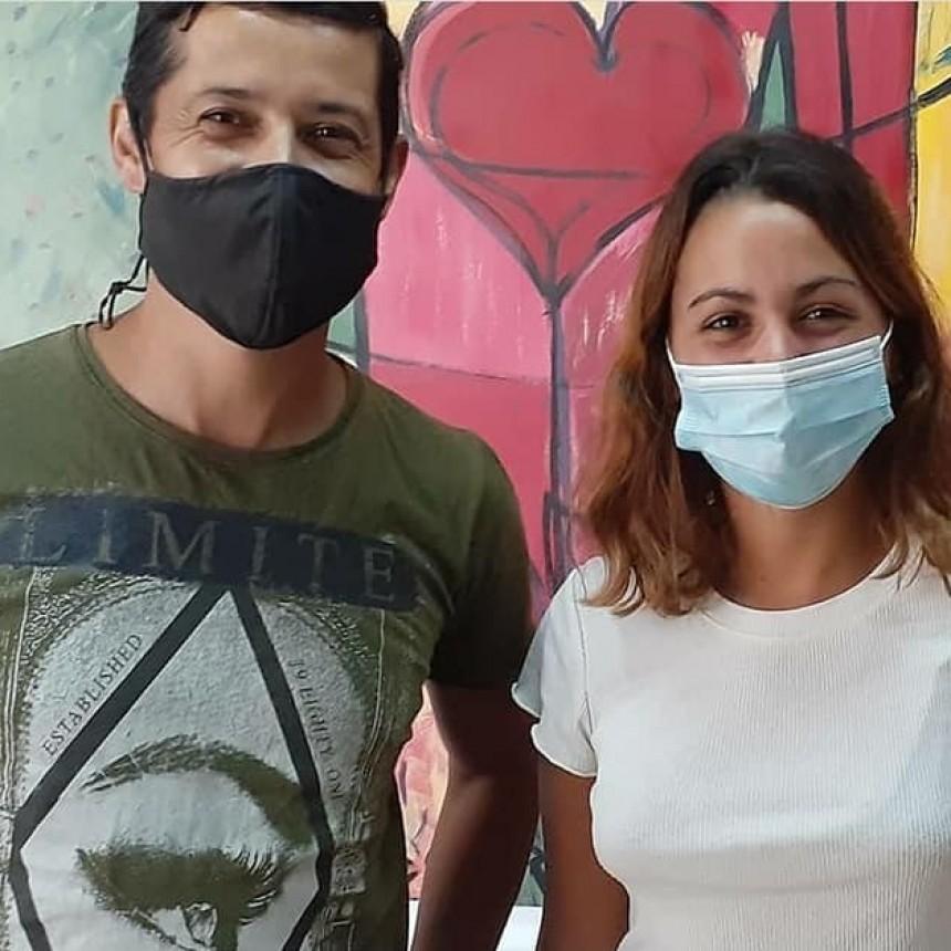 Acto solidario: Agentes de la Unidad N.º 17 donaron plasma