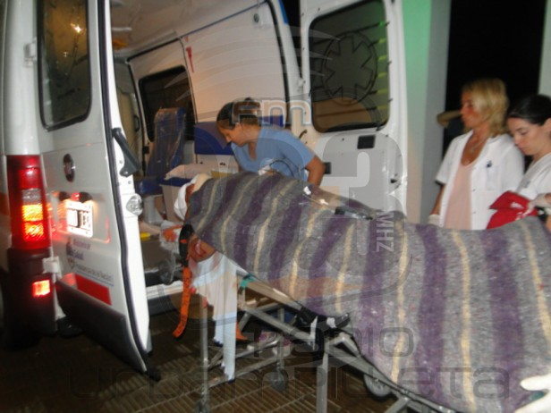Evolucionan los heridos en un accidente registrado en la noche del viernes