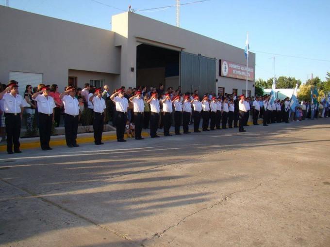 Bomberos Voluntarios de Urdampilleta cumplió sus 10 años de su independización, pasando a ser Cuartel Nº 237