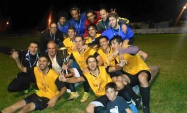 Torneo Nocturno de Fútbol de la Escuela N°54: 'Transporte El Narigón' se consagró campeón