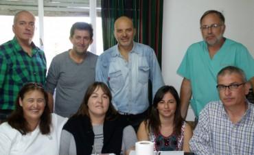 Reunión del equipo municipal, en sus distintas áreas, para tratar problemáticas sociales
