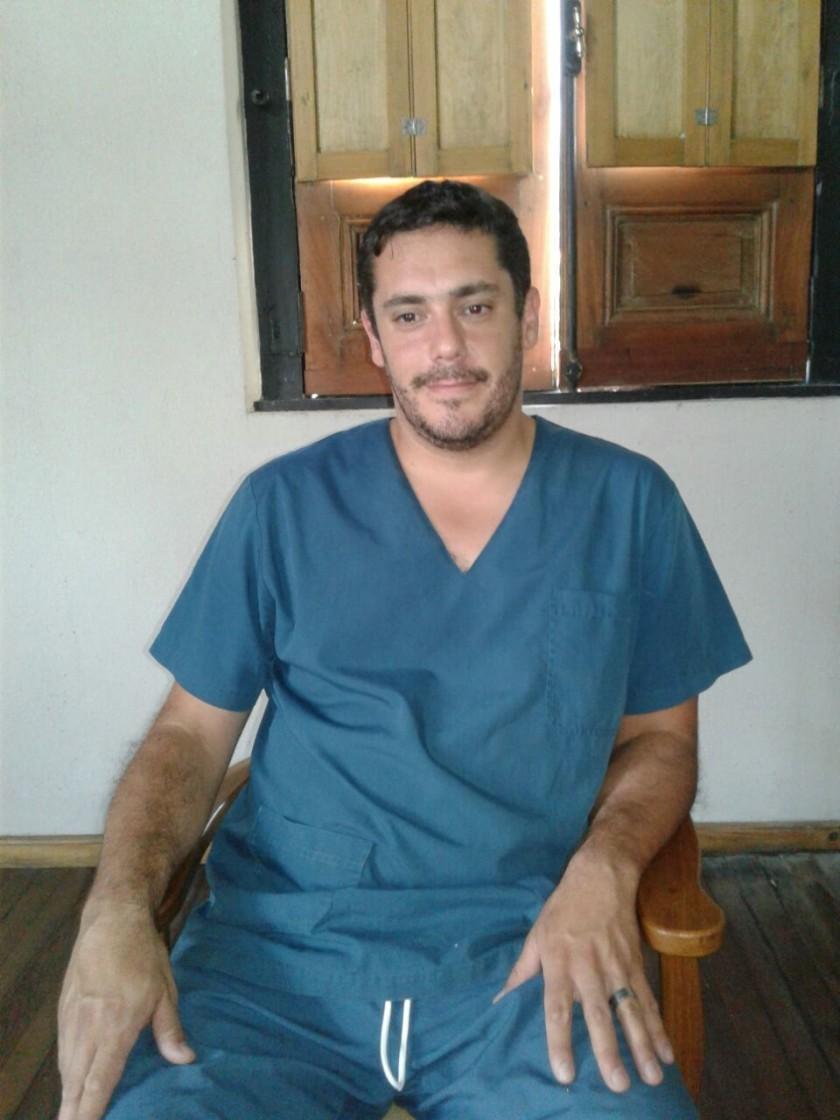 Segunda visita de Enzo Solondoeta en Veterinaria 'Catriel' con atención a pequeños animales