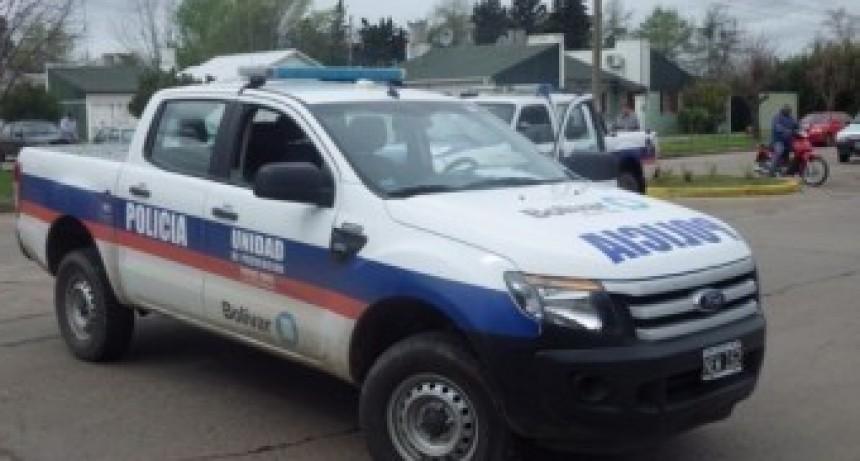 Volcó un camión con cereal en cercanías del ingreso a Pirovano