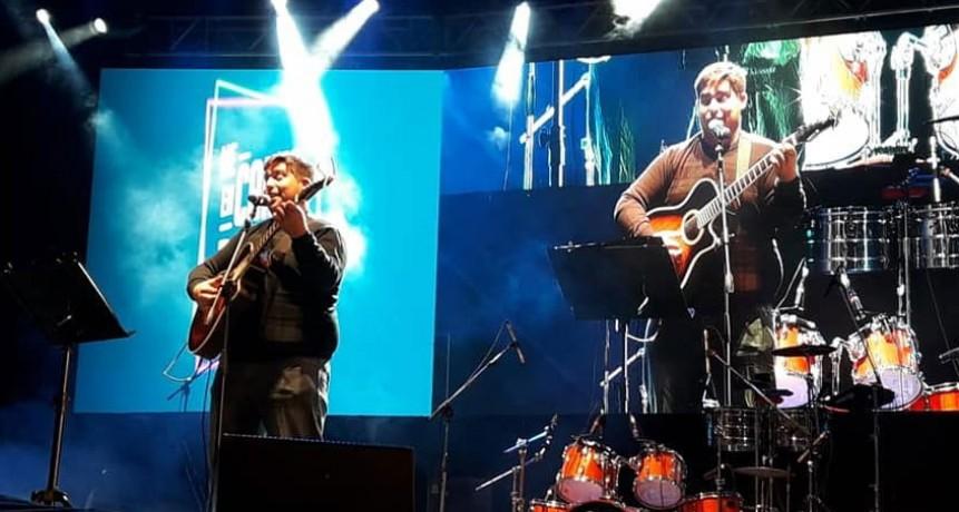 Mariano Negretti: 'El público me acompañó cantando y eso me deja muy conforme'