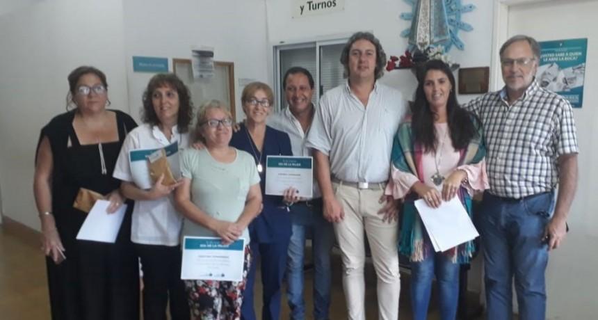 La delegación municipal reconoció a enfermeras de la localidad