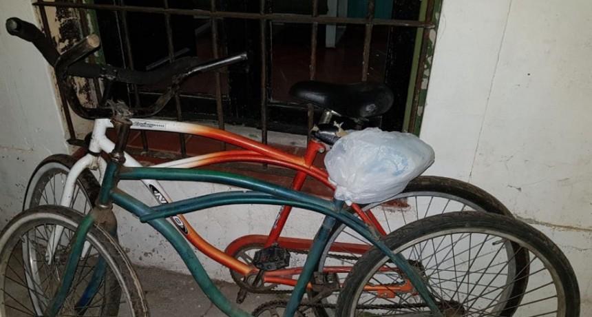 Se aprehendieron 3 sujetos que habrían sido los autores de los robos de las bicicletas en la última noche de carnaval