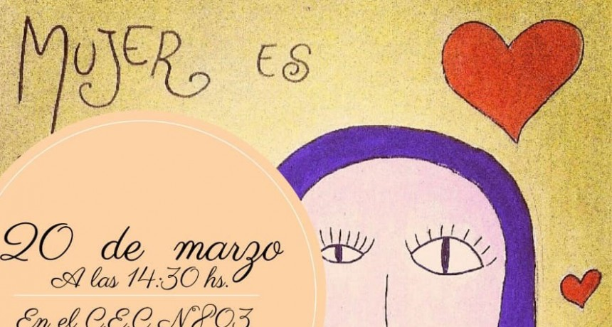 Los EOE del CEC 803, EP N.º 22, EP N.º 54 y EES N.º 3 realizaran un concurso de bocetos para mural alusivo al día de la mujer