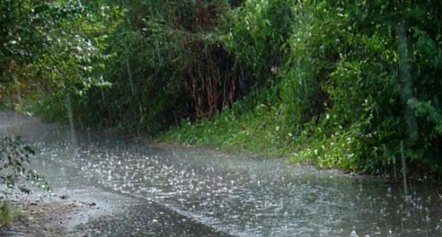 Registro de la lluvia caída hasta el momento, hasta 120 mm