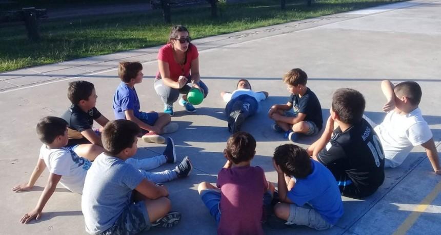 Comenzaron las clases de iniciación deportiva en el CEF N.º 158 de Pirovano