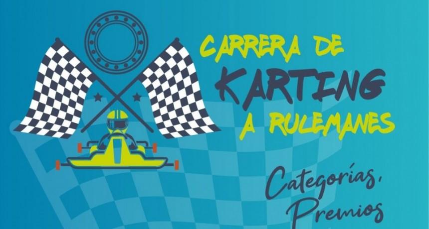 Este próximo domingo 31 llega la 2º gran carrera de karting a rulemanes