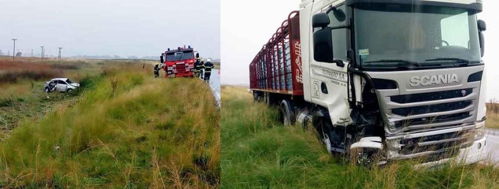 La ruta 65 otra vez escenario de un fatal accidente